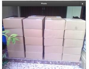 20 Karton ke BSD Tangerang telah terkirim, no.resi k Tangerang: 1207783